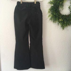 Roxy Kids Black Snowboard/Ski Pants